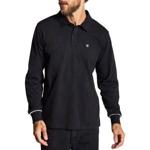 Carlos Knit Long-Sleeve Polo Shirt - Mens