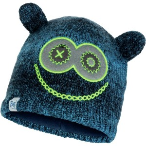 Knitted & Polar Fleece Beanie - Kids