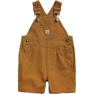Canvas Bib Shortall - Infants