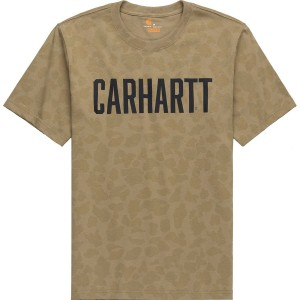 TK346 Relaxed Fit Camo T-Shirt - Mens