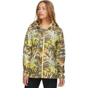 Side Hill Printed Windbreaker - Womens