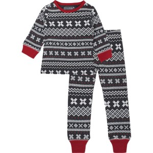 Holiday Long Sleeve PJ and Cap Set - Toddlers