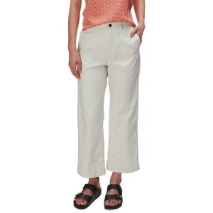 Stand Up Cropped Pants - Womens