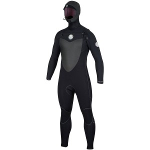 Flashbomb 5/4 Hooded Chest-Zip ST Wetsuit - Mens