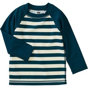 Baby Colorblock Long-Sleeve Rash Guard - Infant Boys
