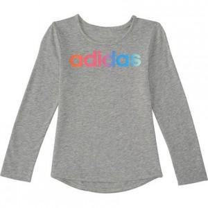 Rainbow Gradient LS T-Shirt - Toddler Girls