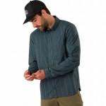 Riel Long-Sleeve Button-Down Shirt - Mens