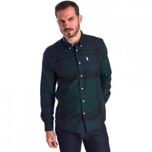 Dunoon Long-Sleeve Shirt - Mens