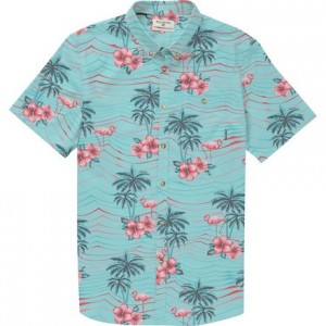 Sundays Floral Short-Sleeve Shirt - Mens