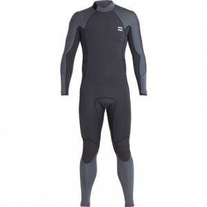 4/3mm Furnace Absolute Back Zip Full Wetsuit - Mens