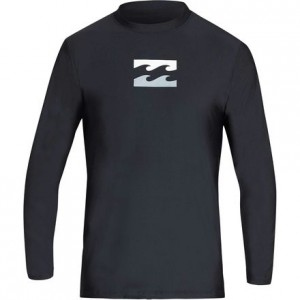 All Day Wave LF Long-Sleeve Rashguard - Boys