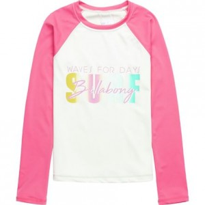 Sol Searcher Long-Sleeve Rashguard - Girls