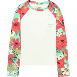 Aloha Sun Long-Sleeve Rasguard - Toddler Girls