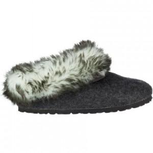 Kaprun Faux Fur Narrow Slipper - Womens
