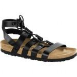 Cleo Leather Narrow Sandal - Womens