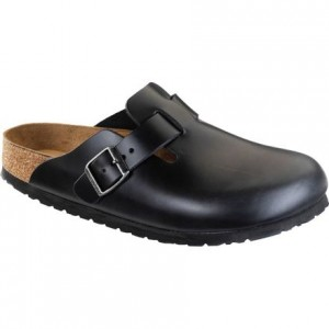 Boston Soft Footbed Leather Clog - Mens