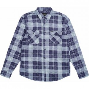 Bowery Lightweight Long-Sleeve Flannel Shirt - Mens