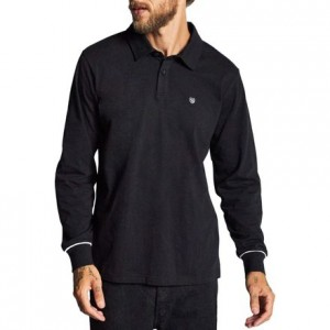 Carlos Knit Long-Sleeve Polo Shirt - Mens