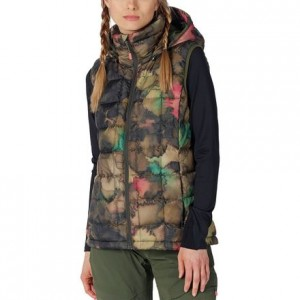 AK Squall Down Hooded Vest - Womens
