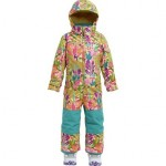 MiniShred Illusion One Piece Snow Suit - Toddler Girls