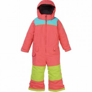Illusion One-Piece Snow Suit - Toddler Girls