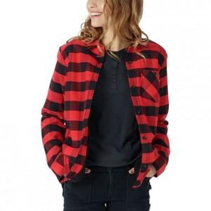 Grace Sherpa Flannel Shirt - Womens