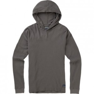 Duntime Waffle Hooded Long-Sleeve T-Shirt - Mens