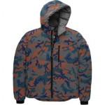 Lodge Matte Finish Down Hooded Jacket - Mens