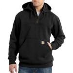 Rain Defender Paxton Heavyweight Hooded Mock-Zip Sweatshirt - Mens