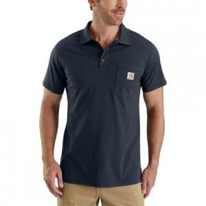 Force Cotton Delmont Pocket Polo Shirt - Mens