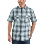 TW171 RF Relaxed Fit Plaid Shirt - Mens