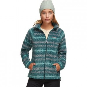 Benton Springs Print Full-Zip Fleece Jacket - Womens