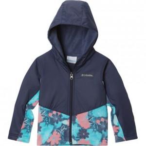 Steens Mountain Overlay Fleece Jacket - Toddler Girls