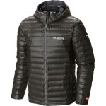 Titanium Outdry Ex Gold Down Hooded Jacket - Mens