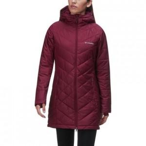 Heavenly Long Hooded Jacket - Womens