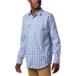 Silver Ridge Lite Plaid Long-Sleeve Shirt - Mens