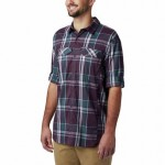 Silver Ridge Lite Plaid Long-Sleeve Shirt - Mens