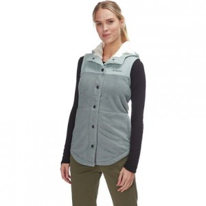 Benton Springs Overlay Fleece Vest - Womens