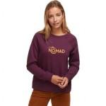 Hart Mountain Graphic Crew Sweatshirt - Womens