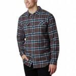 Flare Gun Stretch Flannel Shirt - Mens