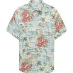 Rayon Hawaiian Shirt - Mens