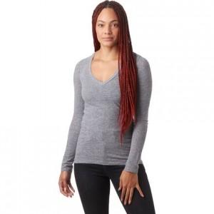 Granite Long-Sleeve V-Neck Shirt - Womens