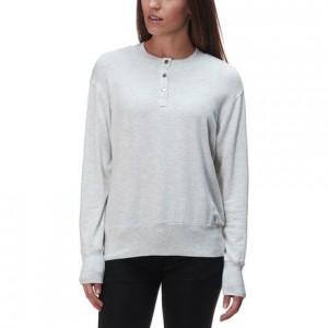 Supersoft Henley Sweatshirt - Womens