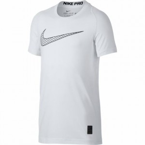 Pro Short-Sleeve Fitted Top - Boys