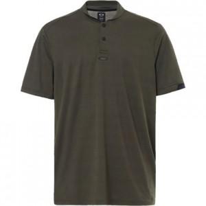 Bomber Collar Short-Sleeve Polo - Mens