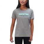 Pastel P-6 Logo Cotton Crew Shirt - Womens