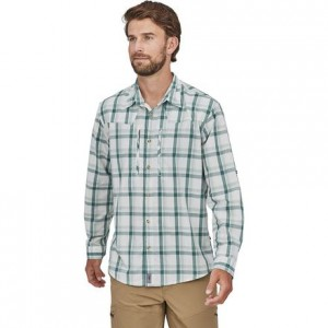 Sun Stretch Long-Sleeve Shirt - Mens