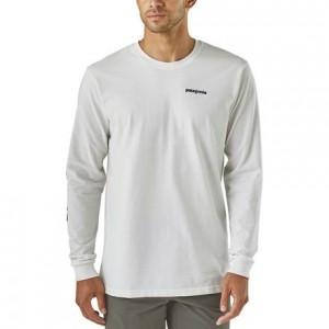 Text Logo Long-Sleeve Responsibili-T-Shirt - Mens