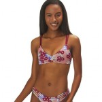 Reversible Seaglass Bay Bikini Top - Womens