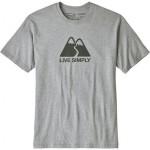 Live Simply Winding Responsibili-T-Shirt - Mens
